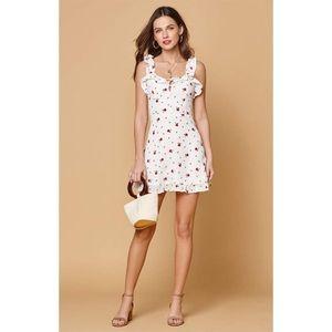 NWT Lioness Hamptons Floral Mini Dress size L